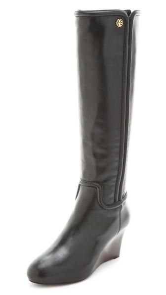Tory Burch Irene Wedge Boots