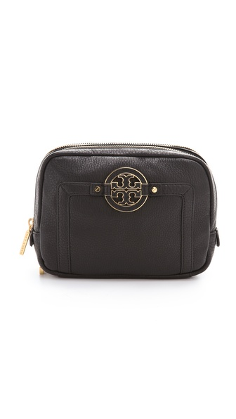 Tory Burch Amanda Double Zip Cosmetic Case