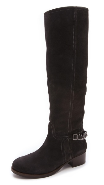 Tory Burch Hana Chainlink Flat Boots