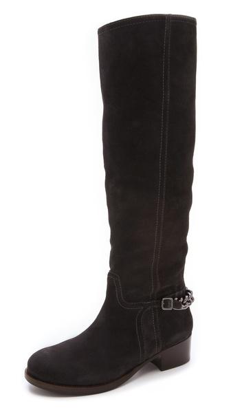 Tory Burch Hana Chainlink Flat Boots