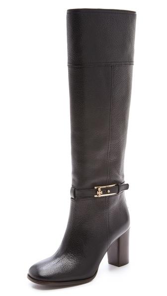 Tory Burch Jenna Mid Heel Boots