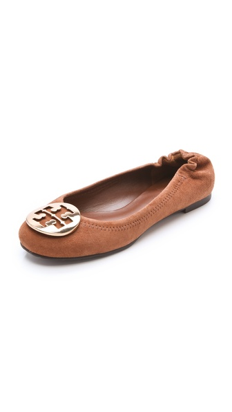 Tory Burch Reva Suede Flats