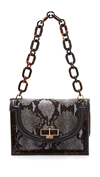 Tory Burch Small Haircalf Frame Bag