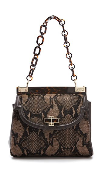 Tory Burch Medium Haircalf Top Bag