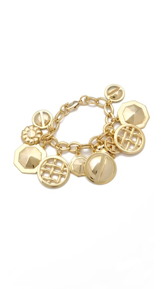 Tory Burch Labyrinth Charm Bracelet