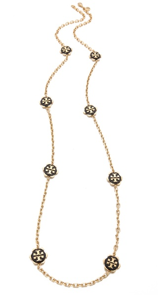 Tory burch walter rosary necklace shopbop for Tory burch jewelry amazon