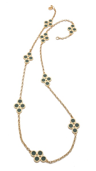 Tory Burch Cole Rosary Necklace
