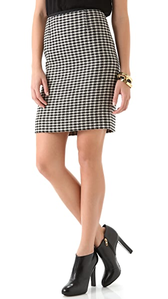 Tory Burch Cornelia Tweed Skirt