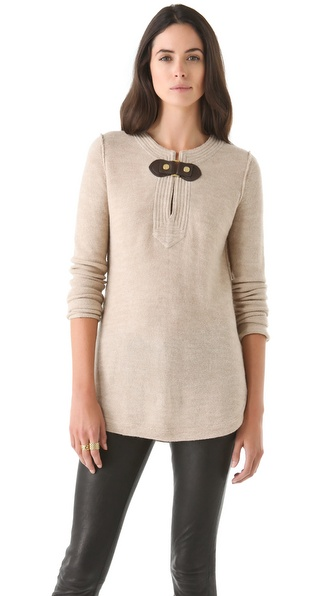 Tory Burch Mim Tunic Sweater
