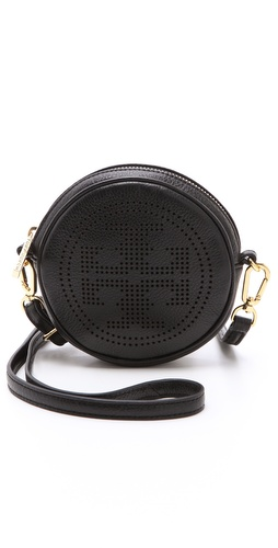 Shop Tory Burch Perforated Logo Cross Body Bag and Tory Burch online - Accessories,Womens,Handbags,Crossbody, online Store