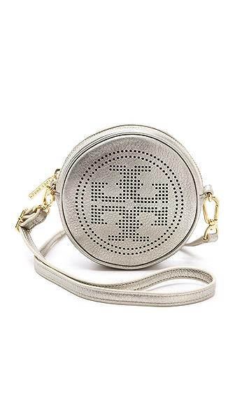 Tory Burch Metallic Logo Cross Body Bag