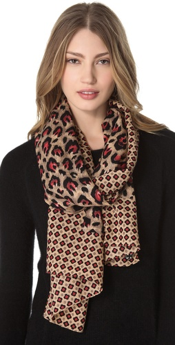 Tory Burch Wray Mix Scarf