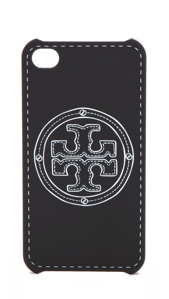 Tory Burch Stacked Logo iPhone Case