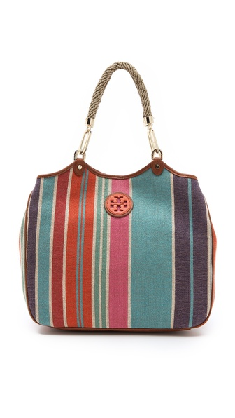 Tory Burch Baja Stripe Channing Tote