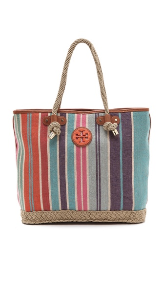 Tory Burch Baja Stripe Jaden Tote