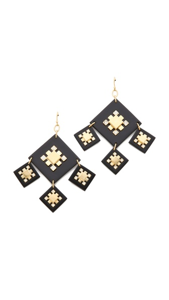 Tory Burch Geo Chandelier Earrings
