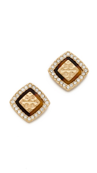 Tory Burch McCoy Post Earrings