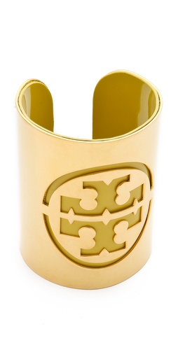 Tory Burch Patent Leather Stencil Cuff