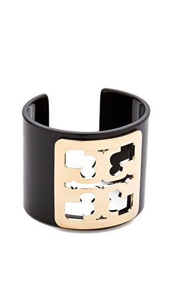 Tory Burch Framed Logo Cuff