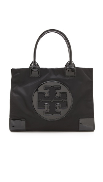 Tory Burch Nylon Ella Tote - Black at Shopbop / East Dane