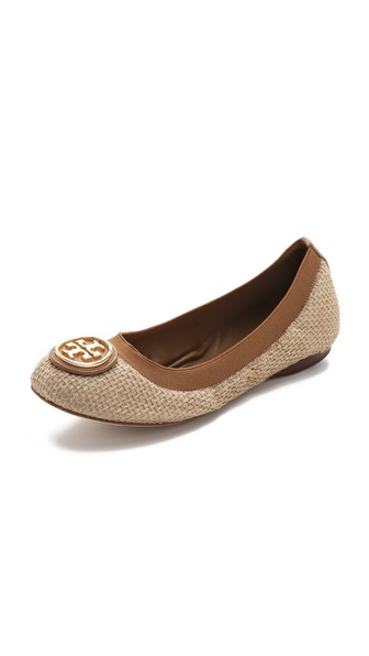 Tory Burch Caroline 2 Elastic Top Line Flats