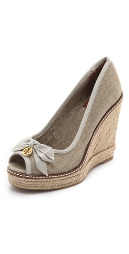 Tory Burch Jackie Wedge Espadrilles at Shopbop.com