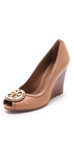 Shop Tory Burch Selma Peep Toe Wedges and Tory Burch online - Footwear,Womens,Footwear,Pumps_(Heels), online Store