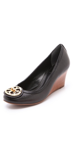 Shop Tory Burch Selma Wedge Pumps and Tory Burch online - Footwear,Womens,Footwear,Pumps_(Heels), online Store