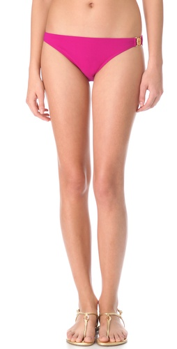 Shop Tory Burch Logo Bikini Bottoms online and buy Tory Burch latest season - Apparel, Womens, Swim, Swim,  online shop