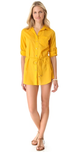 Shop Tory Burch Kaia Tunic Cover Up online and buy Tory Burch latest season - Apparel, Womens, Swim, Coverups,  online shop