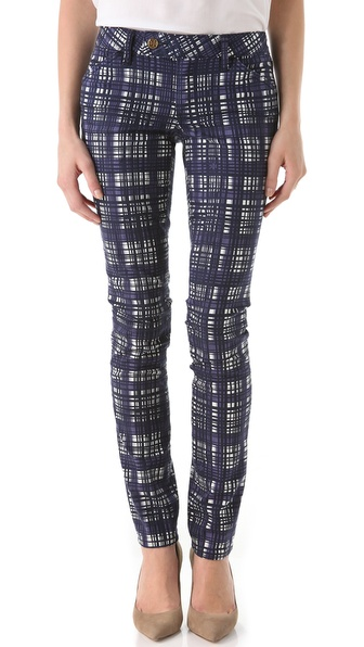 Tory Burch Tab Front Skinny Pants