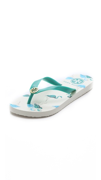 Tory Burch TB Flip Flops