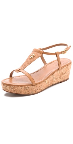 Shop Tory Burch Britton Wedge Sandals and Tory Burch online - Footwear, Womens, Footwear, Sandals,  online Store
