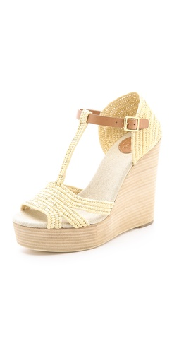 Tory Burch Carina Wedge Sandals