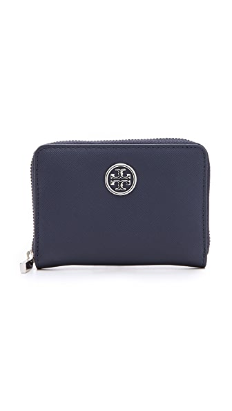 Tory Burch Robinson Zip Coin Wallet
