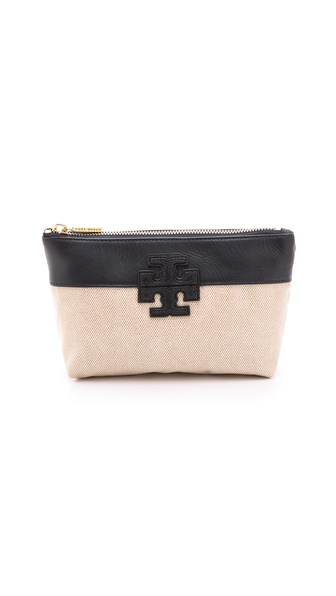 Tory Burch Stacked T Cosmetic Case from shopbop.com
