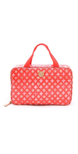 Shop Tory Burch Hanging Zip Cosmetic Case and Tory Burch online - Accessories,Womens,SLGs,Cosmetic_Case, online Store