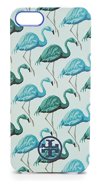 Tory Burch Flamingo Softshell iPhone 5 Case