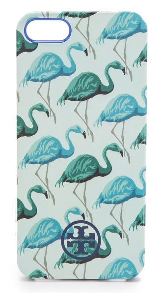 Tory Burch Flamingo Softshell iPhone 5 Case
