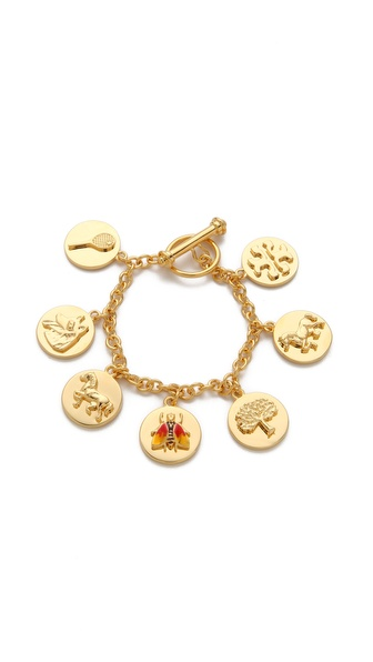 Tory Burch Buddy Charm Bracelet