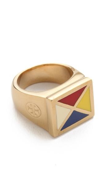 Tory Burch Ahoy Ring