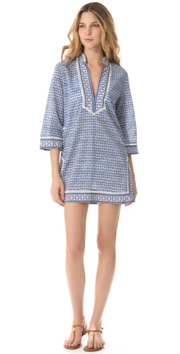 Shop Tory Burch Moray Cover Up Tunic online and buy Tory Burch latest season - Apparel, Womens, Swim, Coverups,  online shop