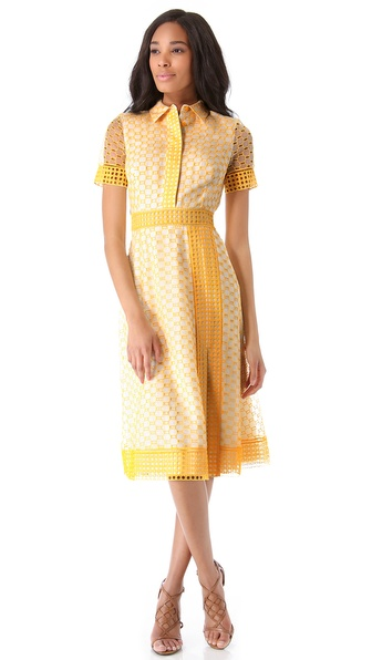 Tory Burch Isidor Organza Dress