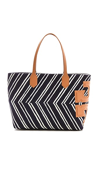 Tory Burch Stacked T East West Tote