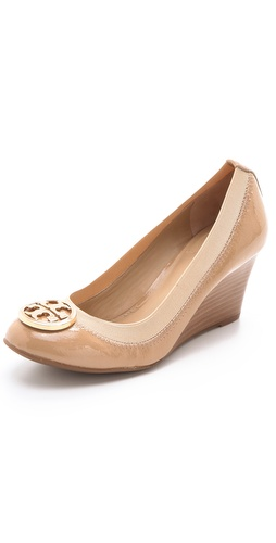 Tory Burch Caroline Wedge Pumps at Shopbop / East Dane