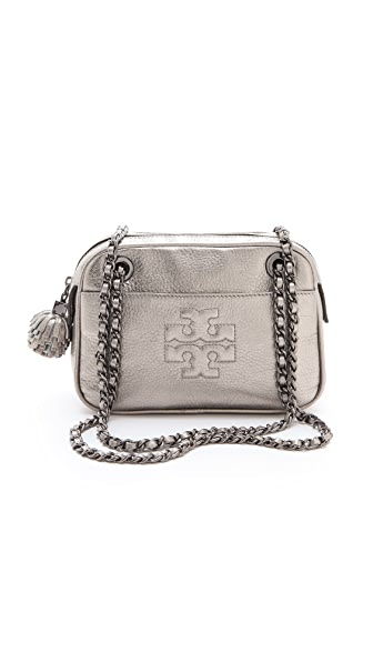 Tory Burch Thea Metallic Cross Body Bag
