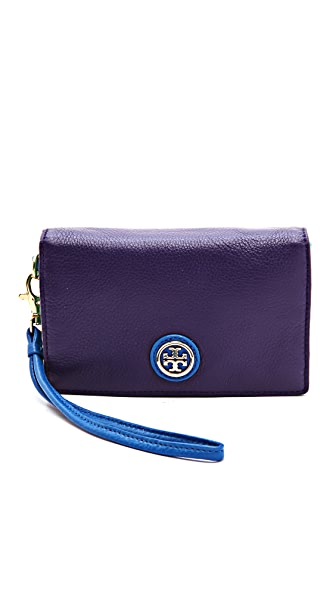 Tory Burch Clay Phone Fold Over Wristlet