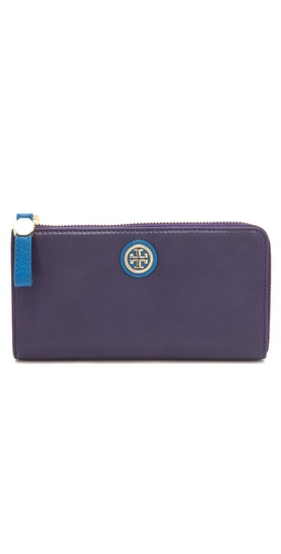 Tory Burch Clay Top Zip Continental Wallet at Shopbop.com