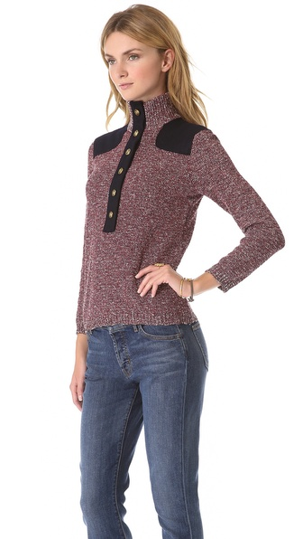 Tory Burch Peg Sweater