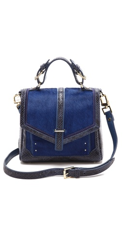 Tory Burch 797 Nano Haircalf Satchel at Shopbop / East Dane